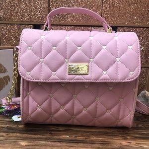 Betsey Johnson Quilted Multi Color Purse